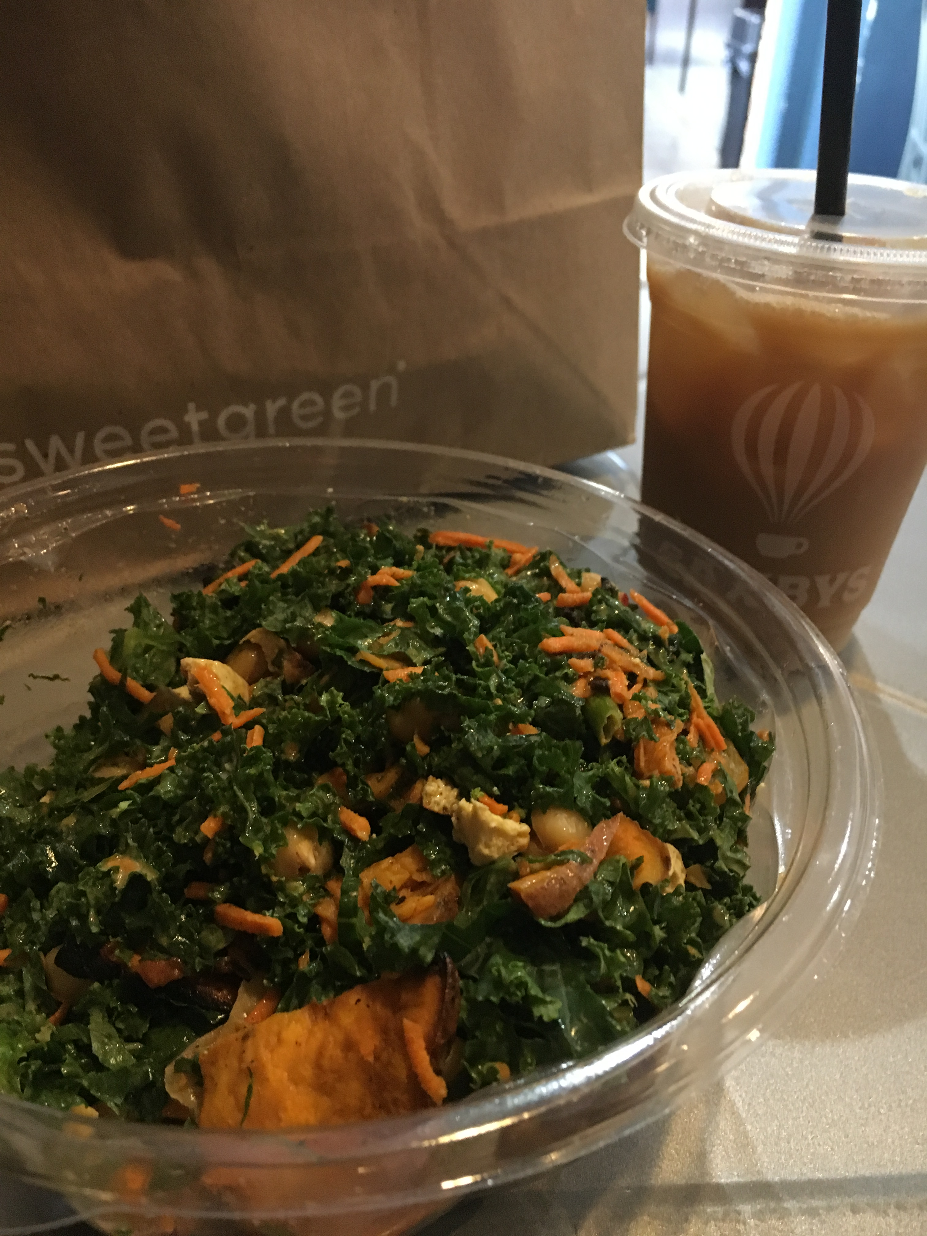 what i ate wednesday sweetgreen