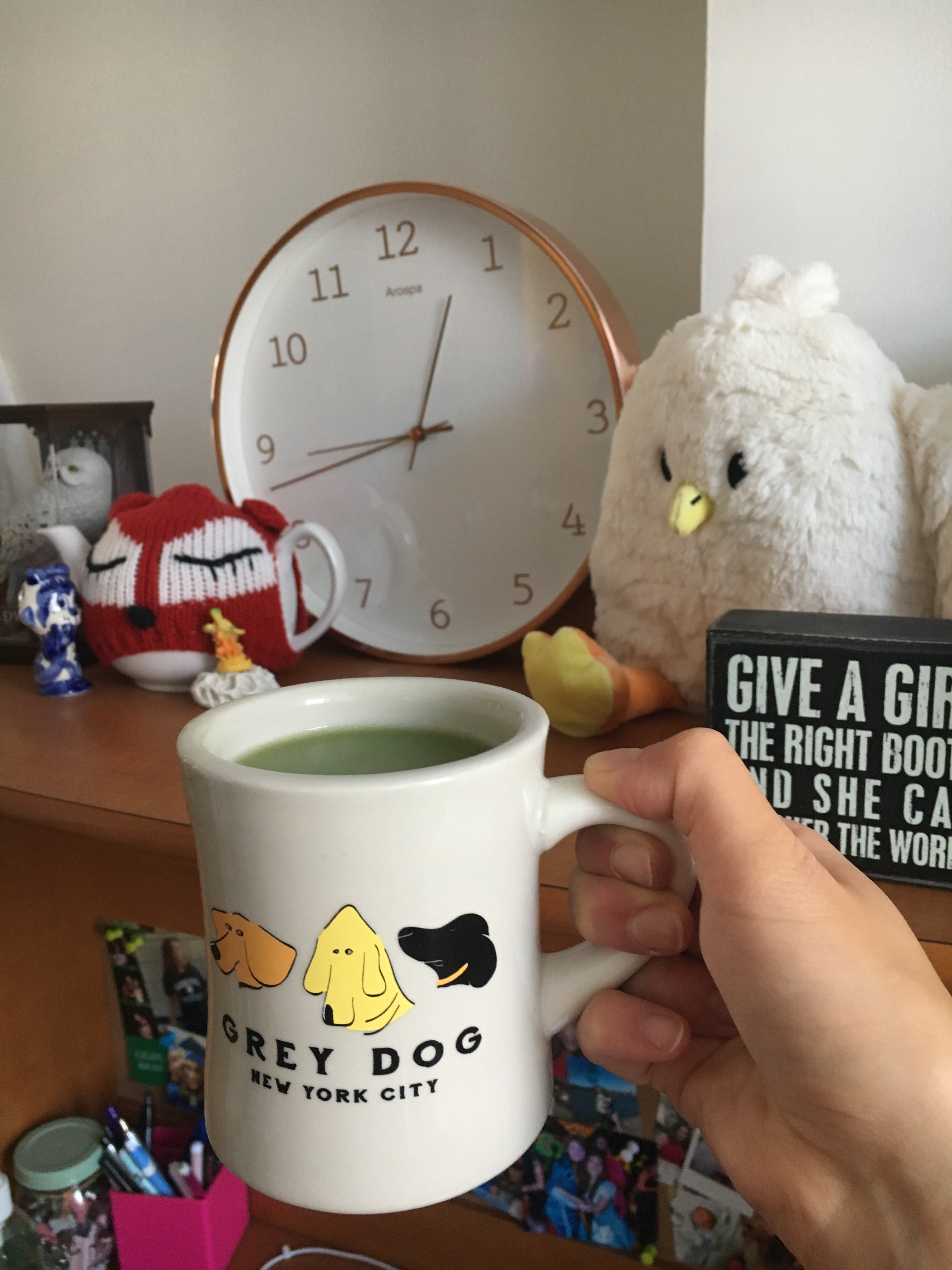 what i ate wednesday matcha latte