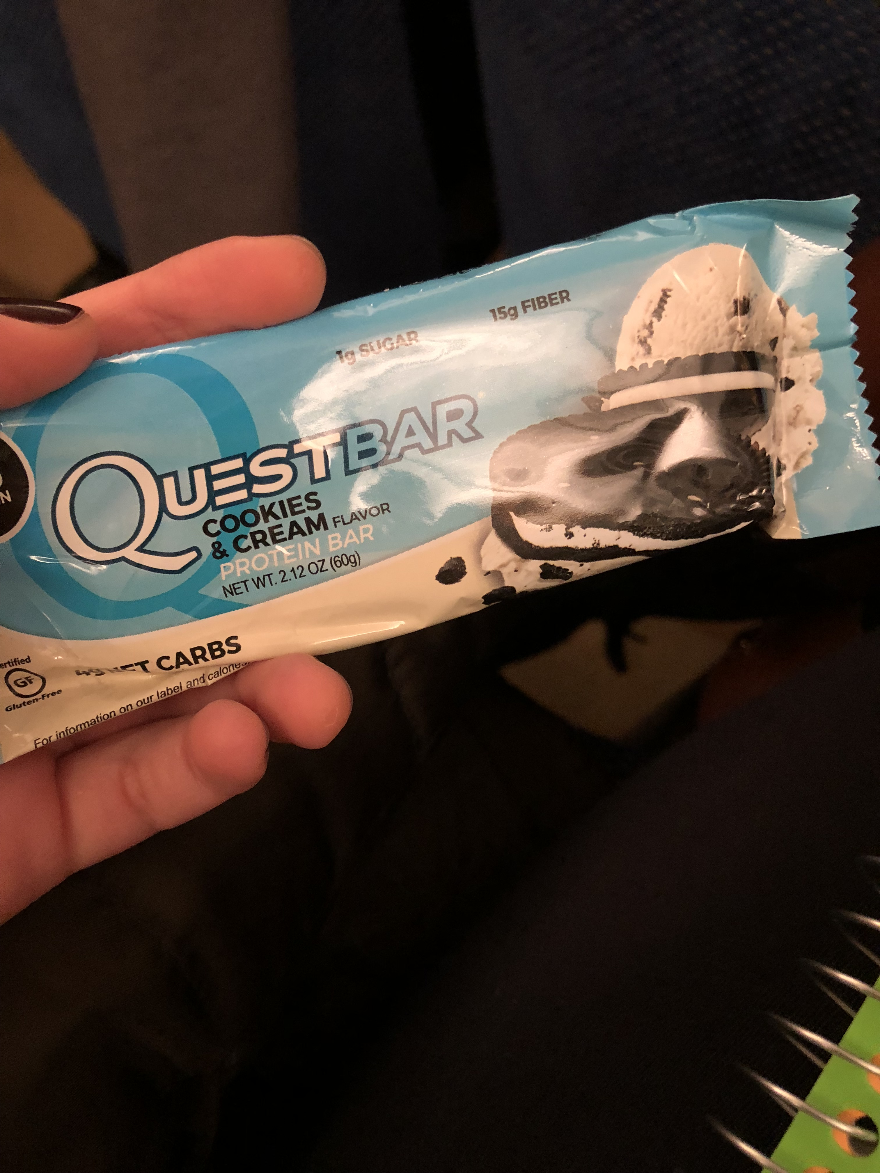 what i ate wednesday busy quest bar